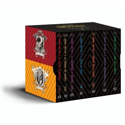 Harry Potter Cofanetto 2018 La Serie Anniversario Brian Selznick