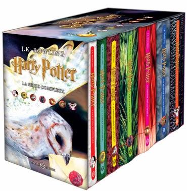 Harry Potter Cofanetto Edizione 2014 Illustrazioni Ien van Laanen