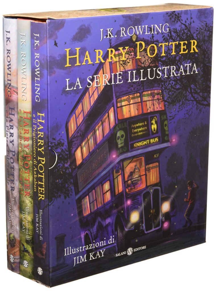 Harry Potter Cofanetto La Serie Illustrata Jim Kay 2019