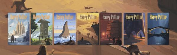 Harry Potter Copertine Nuova Edizione 2021 De Lucchi