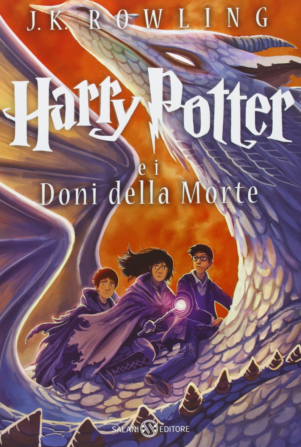 Harry Potter and the Deathly Hallows Castle Ediotion 2013 – Italian Cover