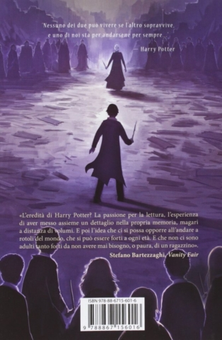 Harry Potter and the Deathly Hallows Castle Ediotion 2013 – Back Italian Cover