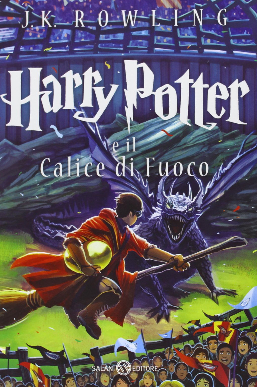 Harry Potter and the Goblet of Fire Castle Ediotion 2013 – Italian Cover