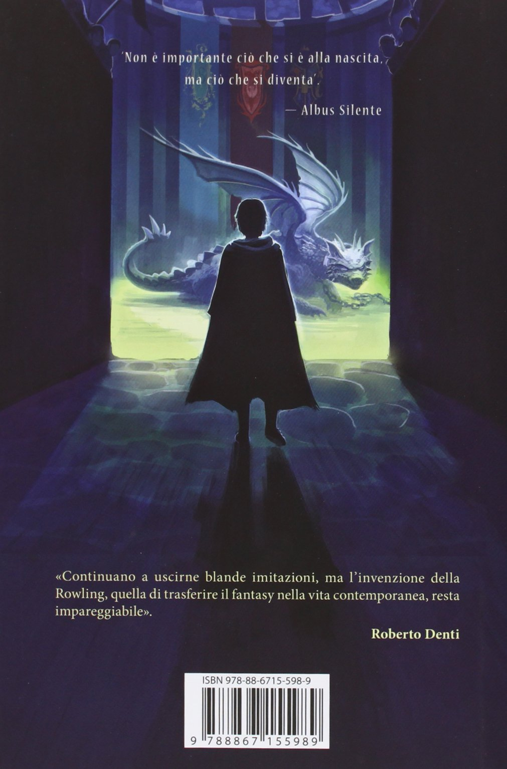 Harry Potter and the Goblet of Fire Castle Ediotion 2013 – Back Italian Cover