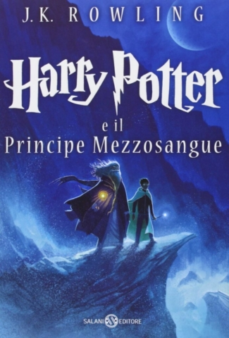 Harry Potter and the Half-Blood Prince Castle Ediotion 2013 – Italian Cover