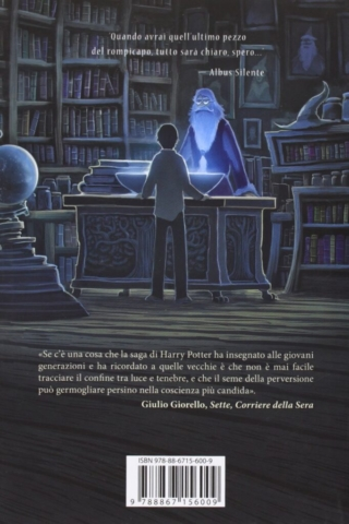 Harry Potter and the Half-Blood Prince Castle Ediotion 2013 – Back Italian Cover