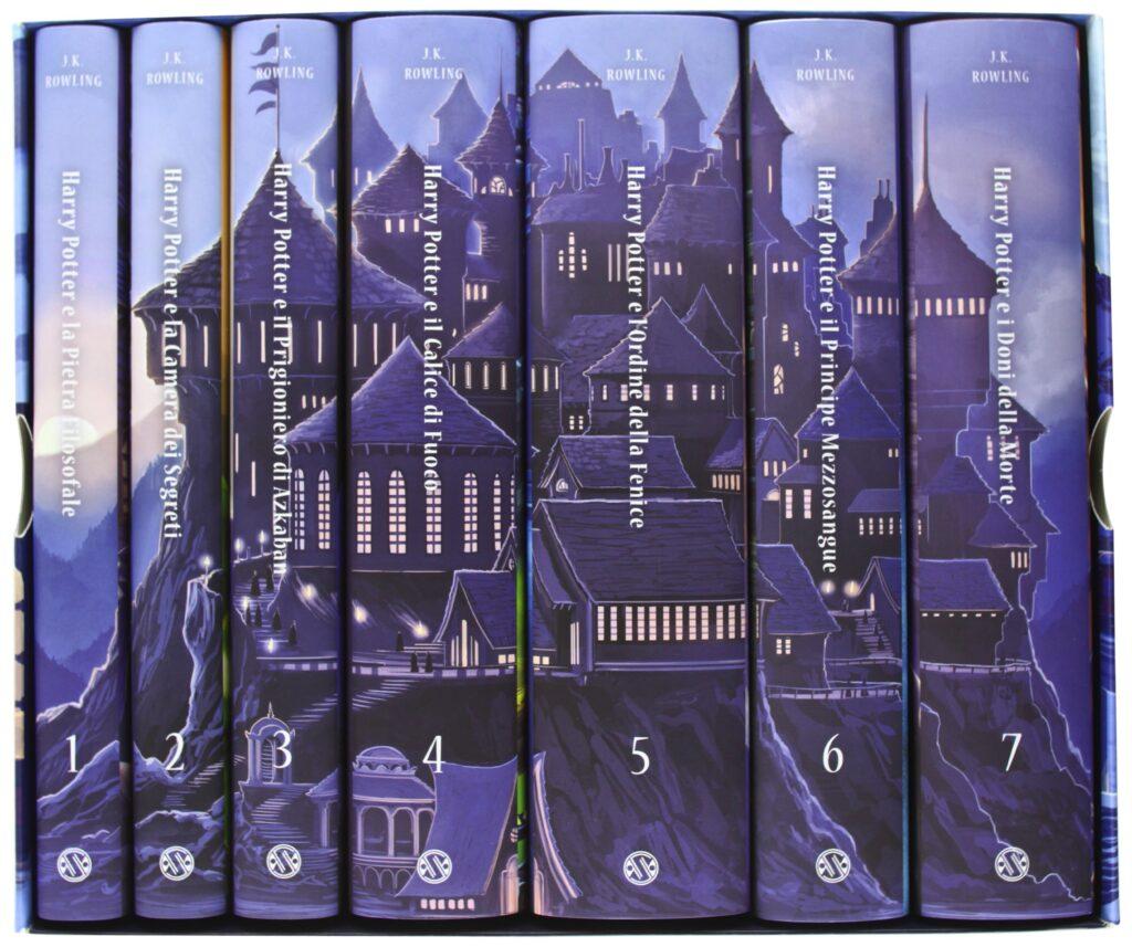 Harry Potter Castle Edition 2013 15th Anniversary Italian Box Set