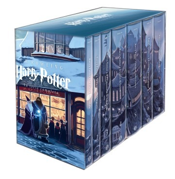 Harry Potter Saga Completa Edizione Castello 2013 con Cofanetto