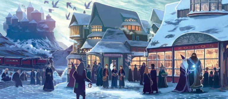 Harry Potter Castle Edition 2013 15th Anniversary Kazu Kibuishi
