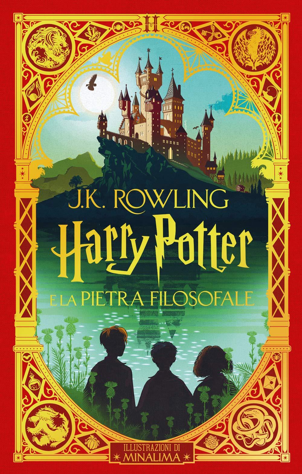 Harry Potter e la pietra filosofale Nuova edizione ManLima Papercut 2020