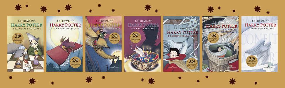Harry Potter Serie Anniversario 2018 20 Anni di Magia