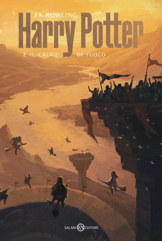 Harry Potter e il calice di fuoco Nuova Edizione 2021 De Lucchi