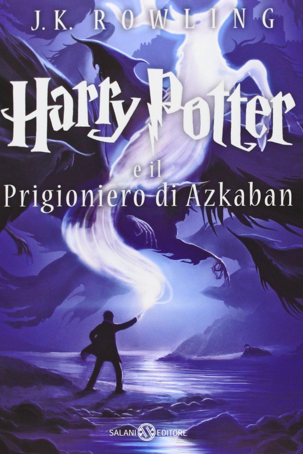 Harry Potter and the Prisoner of Azkaban Castle Ediotion 2013 – Italian Cover