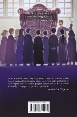 Harry Potter and the Prisoner of Azkaban Castle Ediotion 2013 – Back Italian Cover