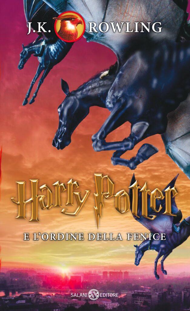 Harry Potter e l'Ordine della Fenice Edizione 2014 Illustrazioni Ien van Laanen