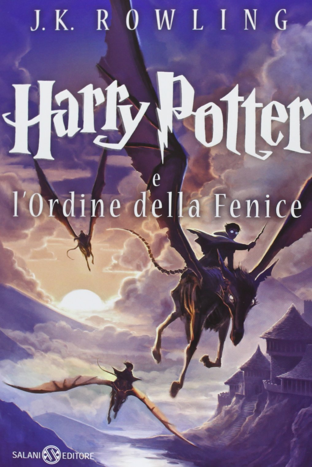Harry Potter and the Order of the Phoenix Castle Ediotion 2013 – Italian Cover