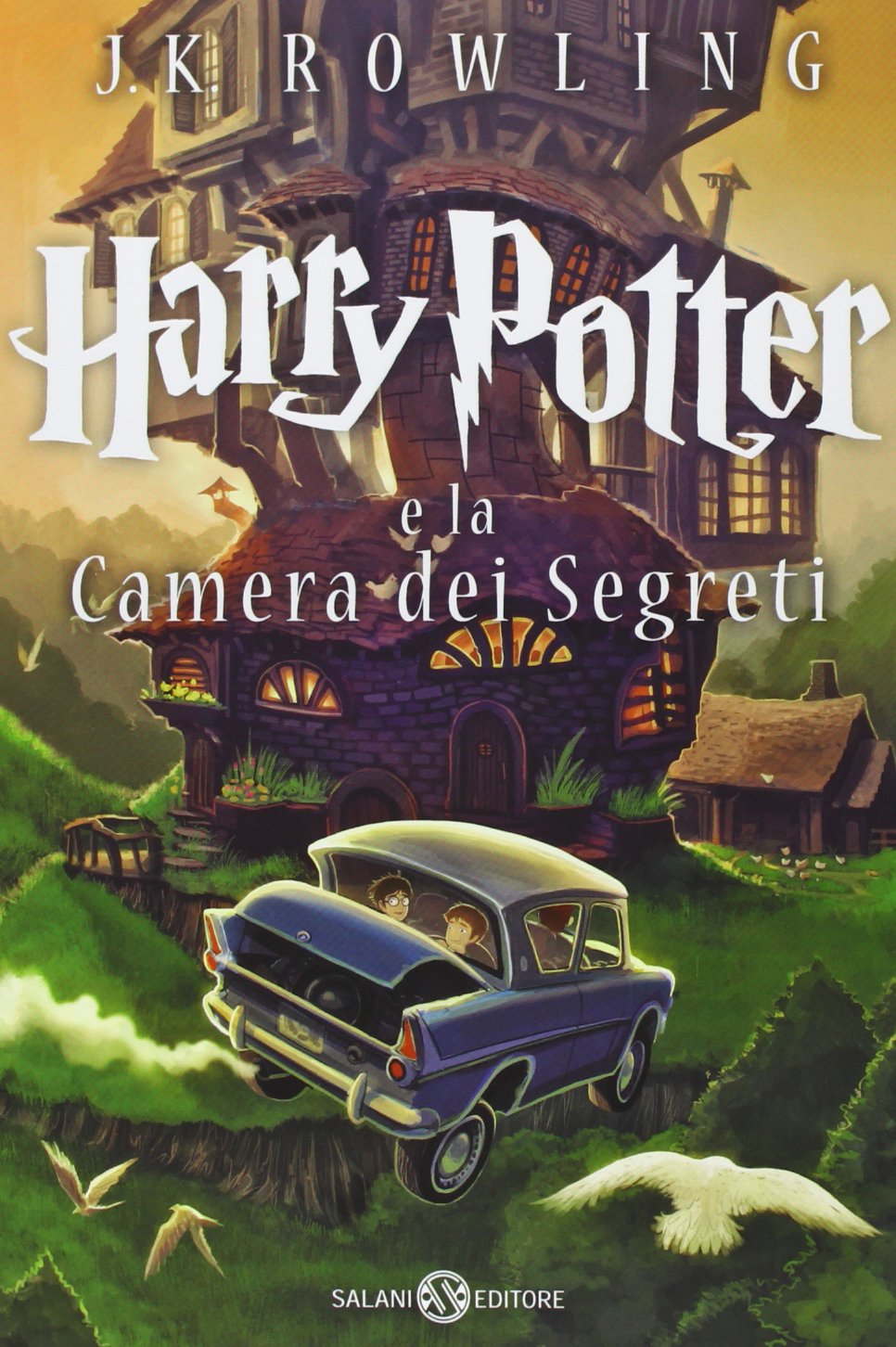 Harry Potter and the Chamber of Secrets Castle Ediotion 2013 – Italian Cover