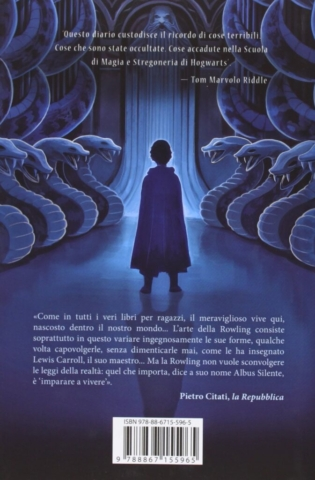 Harry Potter and the Chamber of Secrets Castle Ediotion 2013 – Back Italian Cover