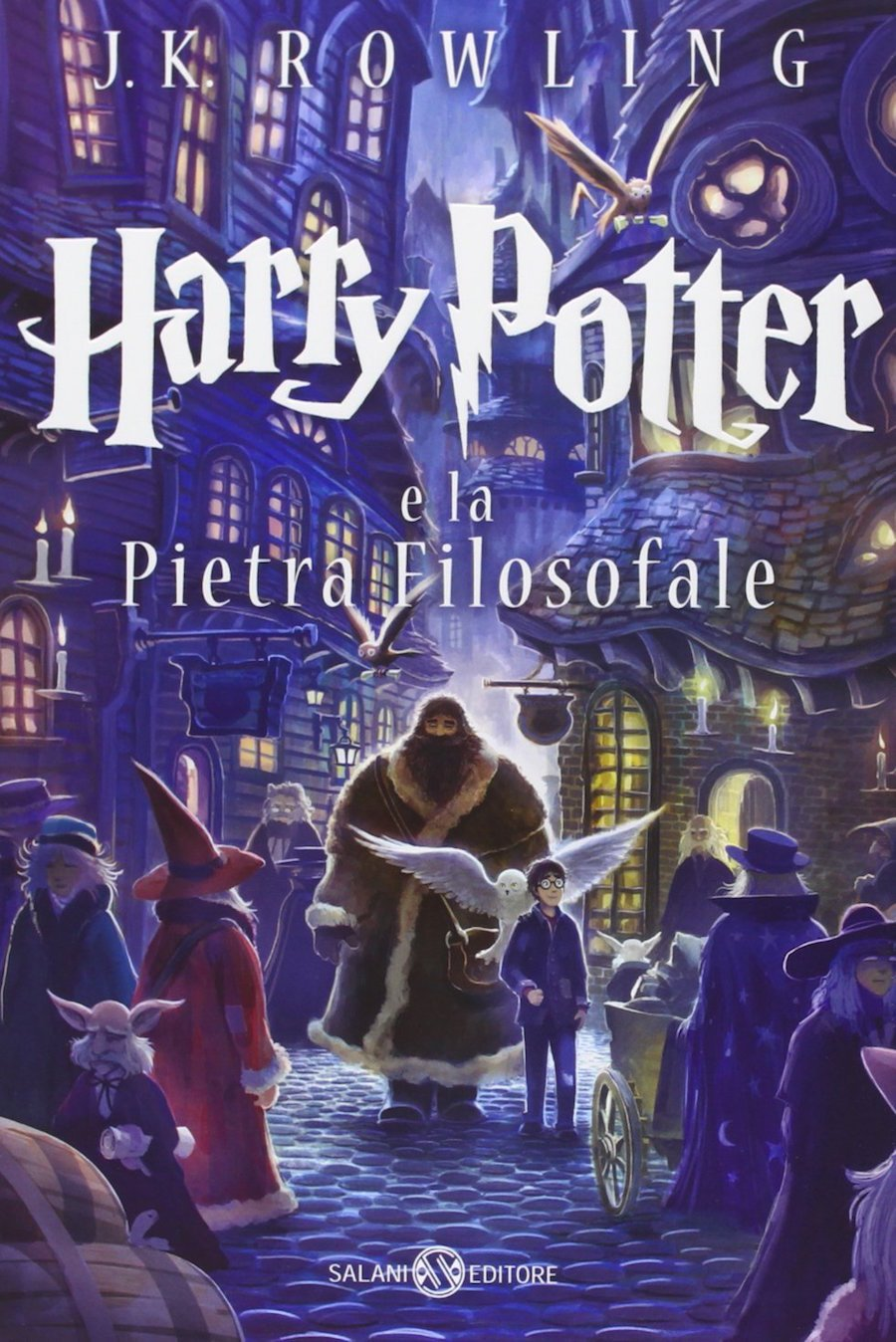 Harry Potter and the Philosopher's Stone Castle Ediotion 2013 – Italian Cover