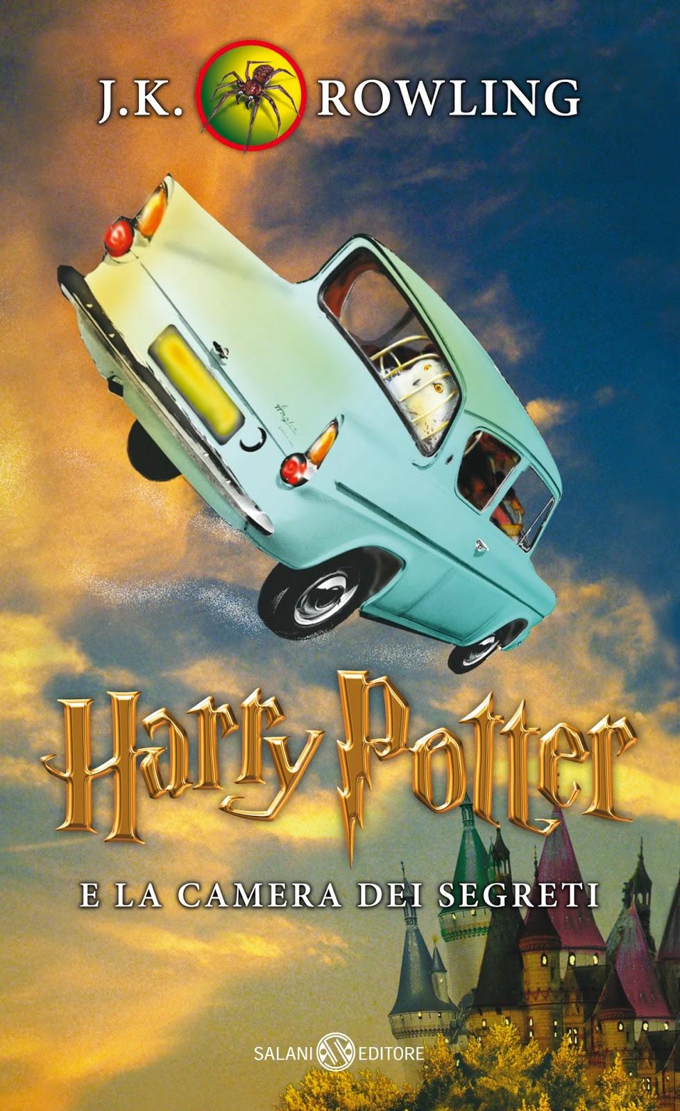 Harry Potter e la camera dei segreti Edizione 2014 Illustrazioni Ien van Laanen