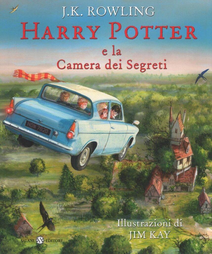 Harry Potter e la camera dei segreti Edizione Illustrata Jim Kay