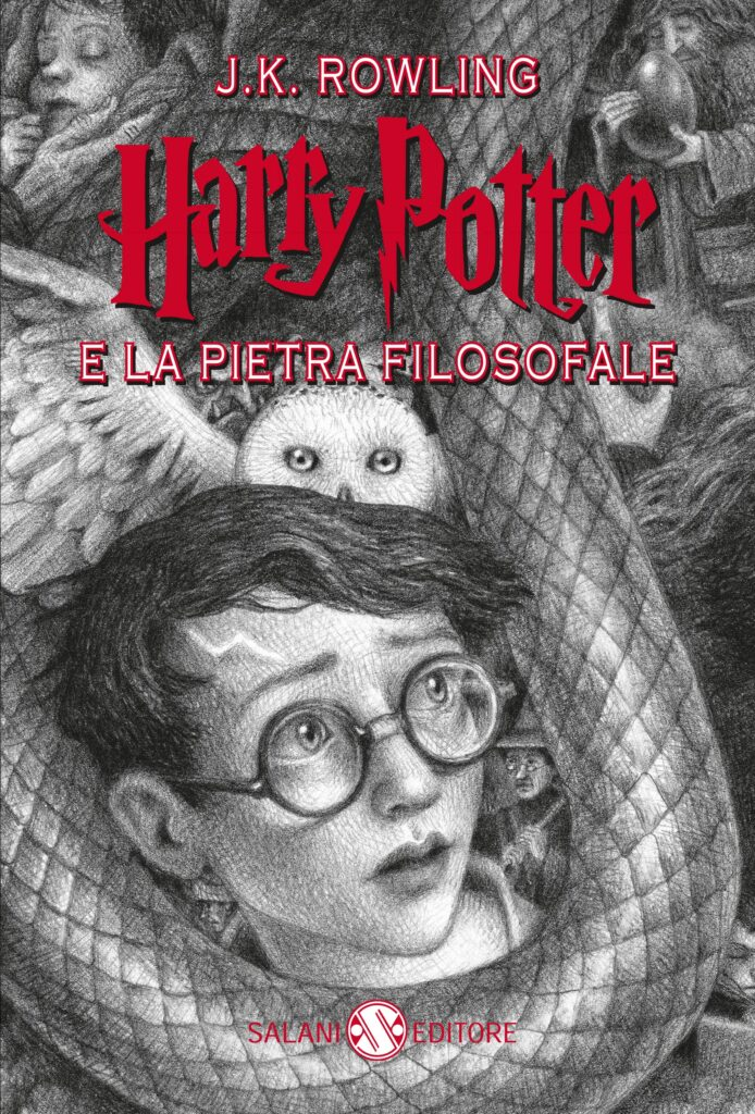 Harry Potter e la pietra filosofale 2018 Anniversaio 20 Anni di Magia Brian Selznick