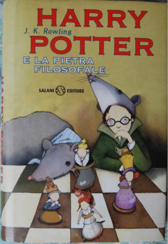 Harry Potter e La Pietra Filosofale Prima Edizione Salani 1998 - Seconda Versione Con Occhiali