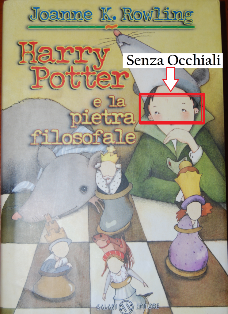 Harry Potter e La Pietra Filosofale Prima Edizione Salani 1998 - Prima Versione Senza Occhiali