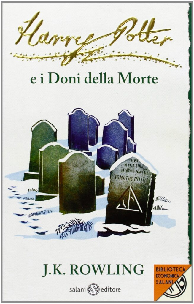 Harry Potter e i Doni della Morte Edizione 2011 Clare Melinsky tascabile economica