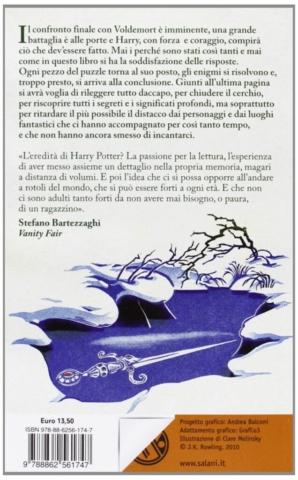 Harry Potter e i Doni della Morte Retro Edizione 2011 Clare Melinsky tascabile economica