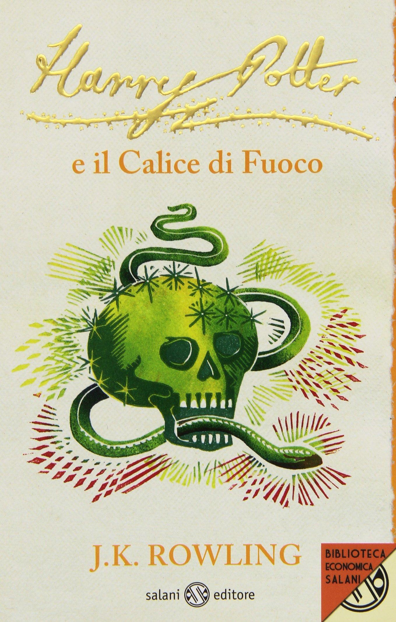 Harry Potter e il Calice di Fuoco Edizione 2011 Clare Melinsky tascabile economica