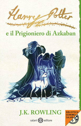 Harry Potter e il Prigioniero di Azkaban Edizione 2011 Clare Melinsky tascabile economica