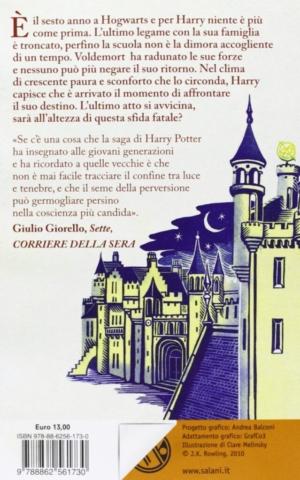 Harry Potter e il Principe Mezzosangue Retro Edizione 2011 Clare Melinsky tascabile economica