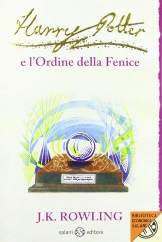 Harry Potter e l'Ordine della Fenice Edizione 2011 Clare Melinsky tascabile economica