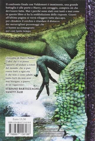 Harry Potter e i Doni della Morte Edizione 2014 Illustrazioni Ien van Laanen - Retro