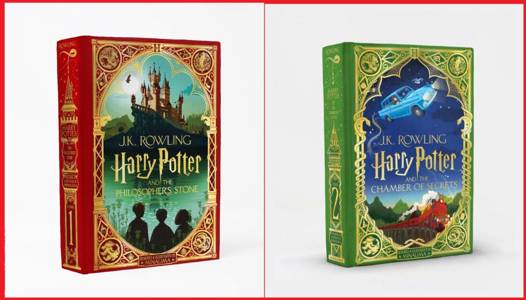 Harry Potter Edizione Papercut MinaLima
