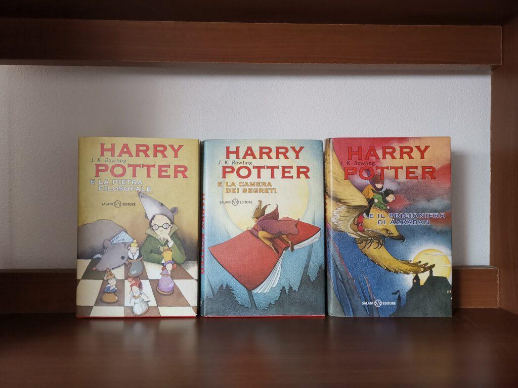 Harry Potter Prima Edizione e la pietra filosofale camera dei segreti prigioniero Azkaban
