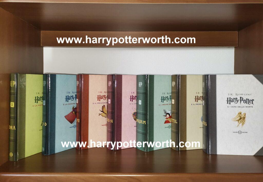Harry Potter Edizione Salani 2007 - Motto Hogwarts Cofanetto scitte latino