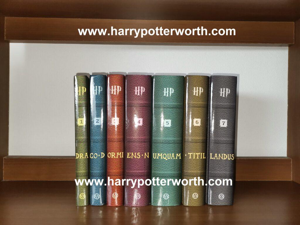 Harry Potter Saga Edizione Motto Hogwarts 2007 Scritta latino