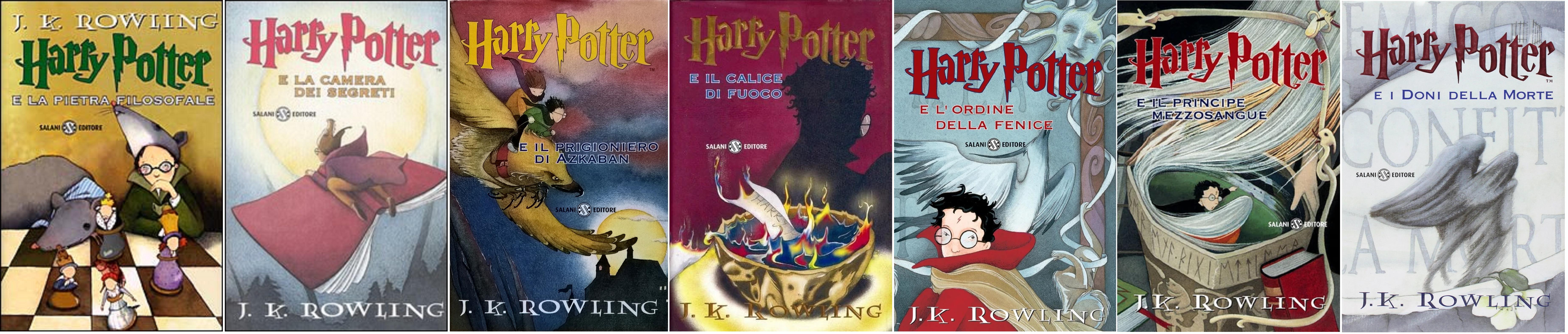 Harry Potter Saga Prima Edizione Serena Riglietti