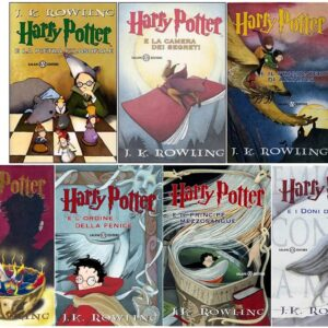 Libri Saga Harry Potter