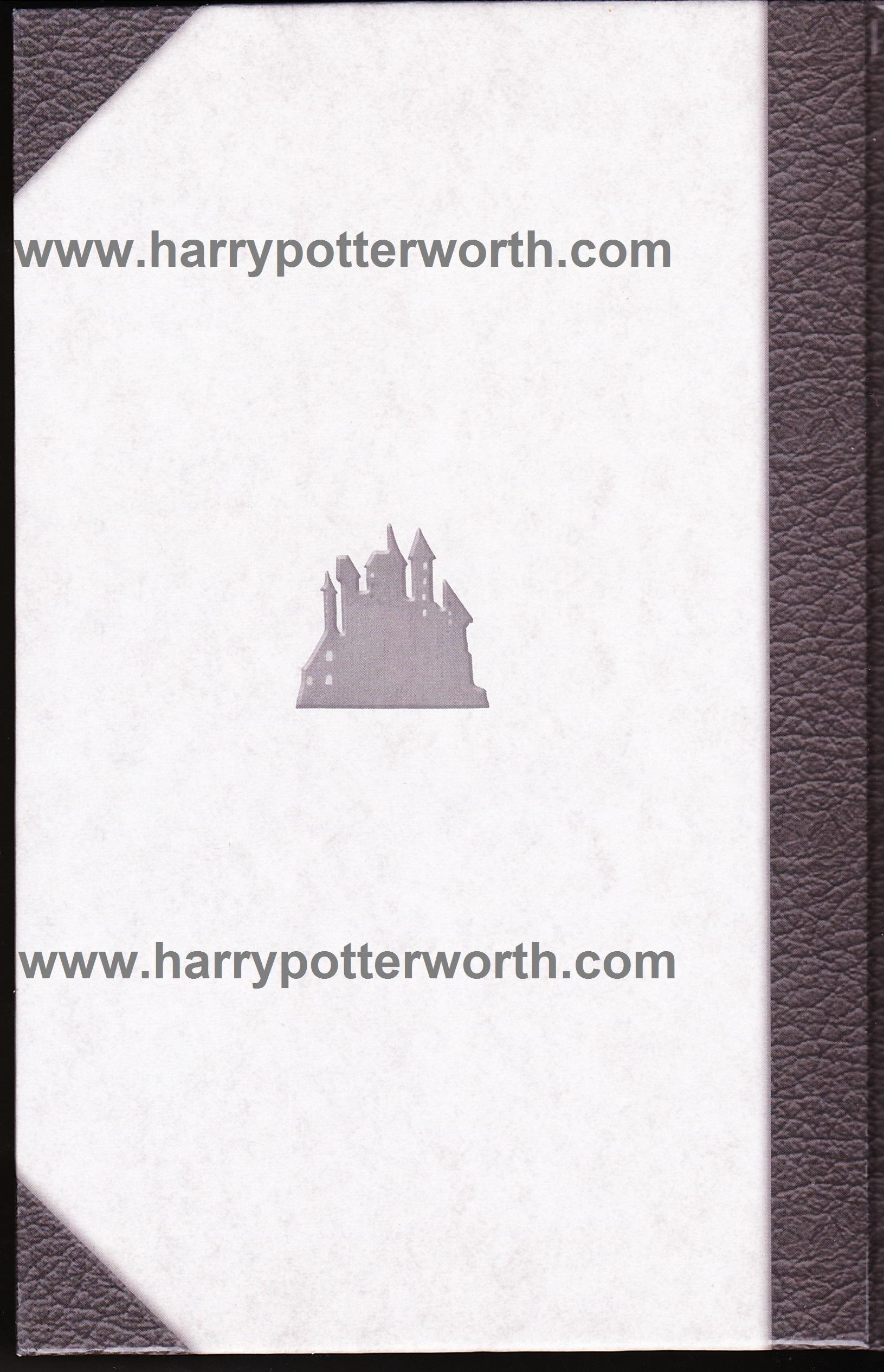 Harry Potter e i Doni della Morte Edizione Motto Hogwarts 2007 - Retro
