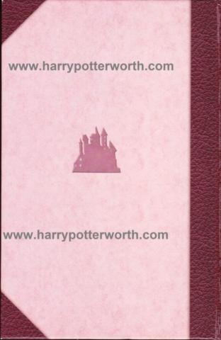 Harry Potter e il Calice di Fuoco Edizione Motto Hogwarts 2007 - Retro