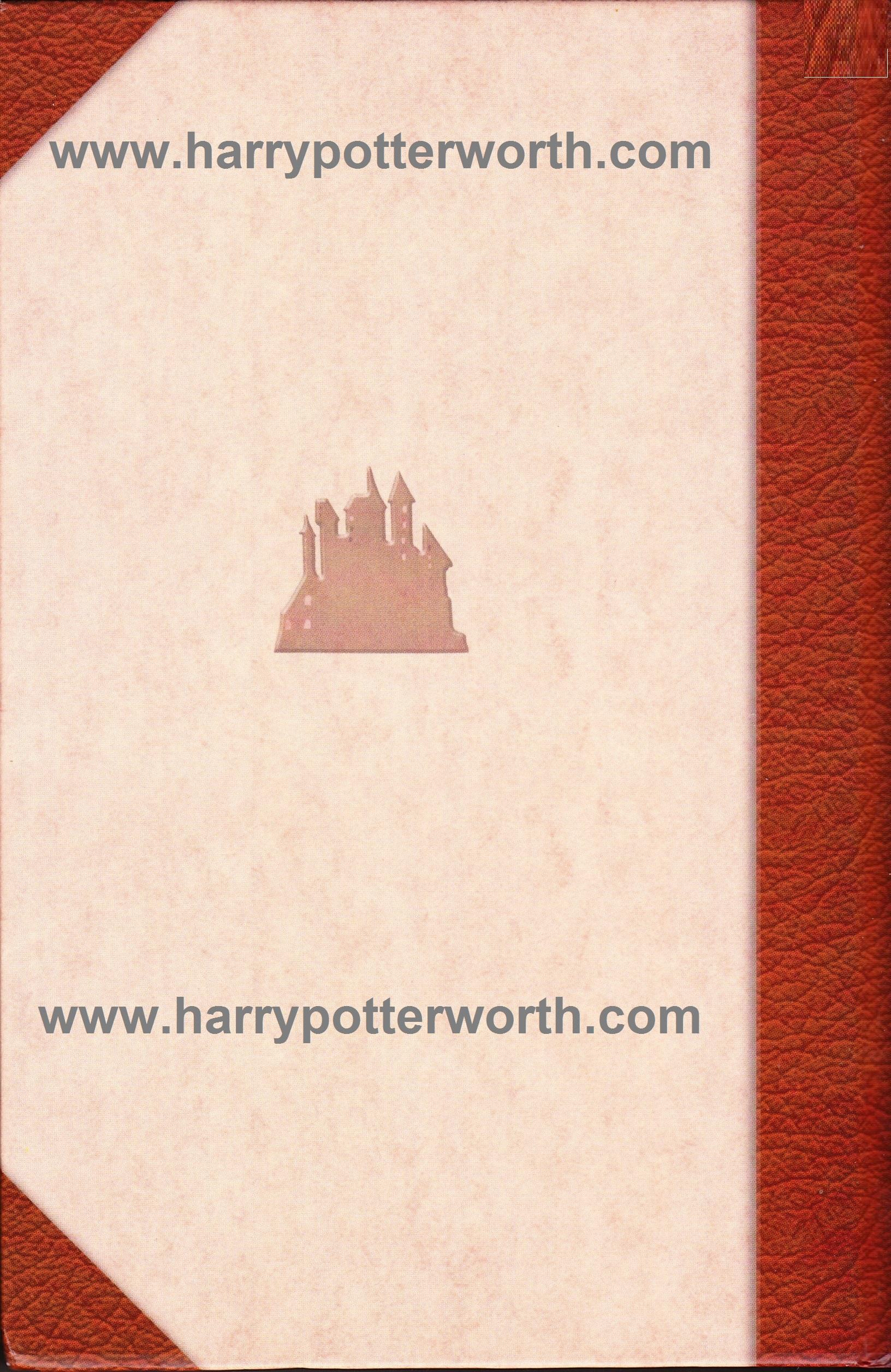 Harry Potter e il Prigioniero di Azkaban Edizione Motto Hogwarts 2007 - Retro