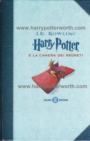 Harry Potter e la Camera dei Segreti Edizione Motto Hogwarts 2007 - Fronte