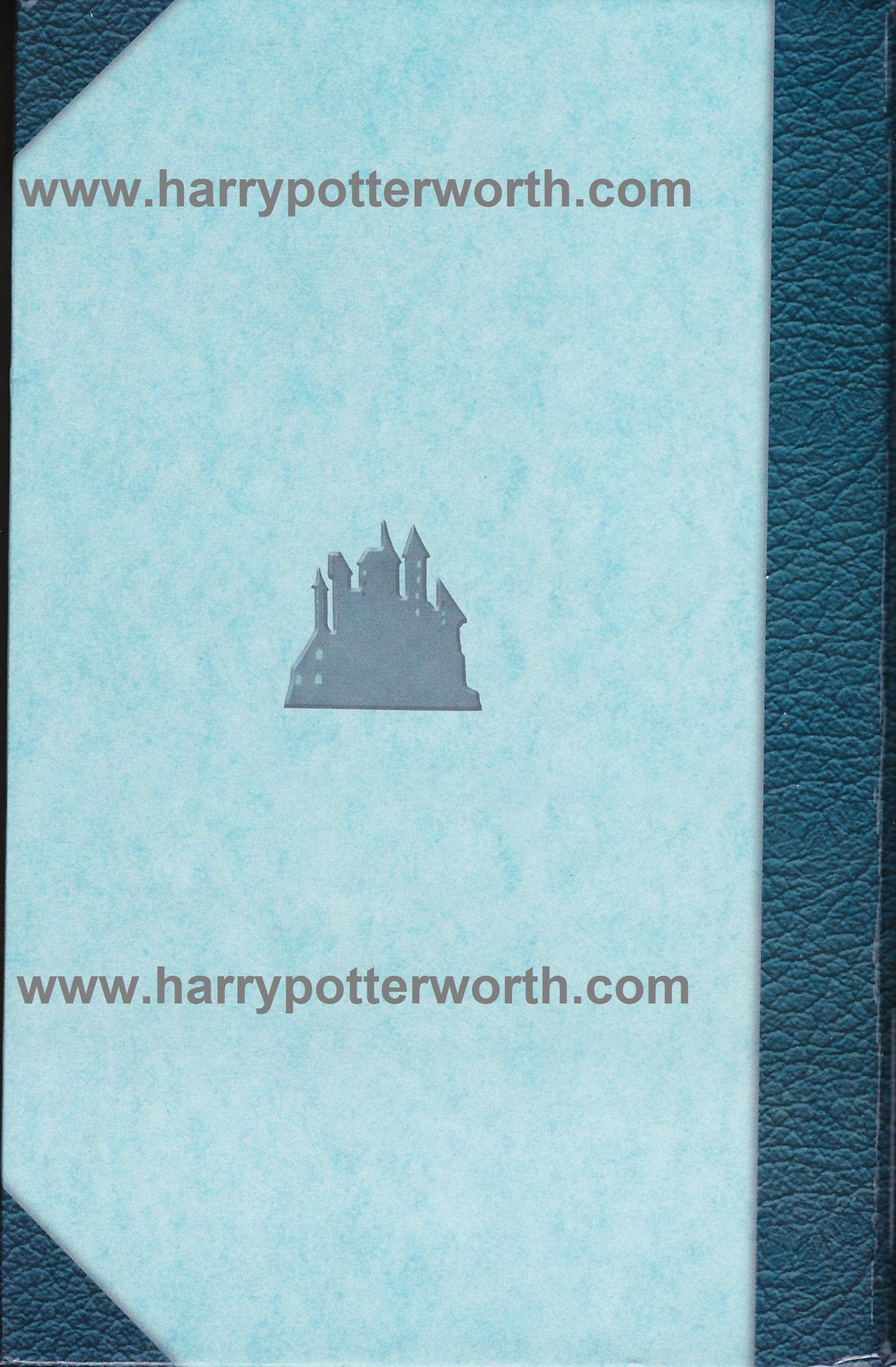 Harry Potter e la Camera dei Segreti Edizione Motto Hogwarts 2007 - Retro