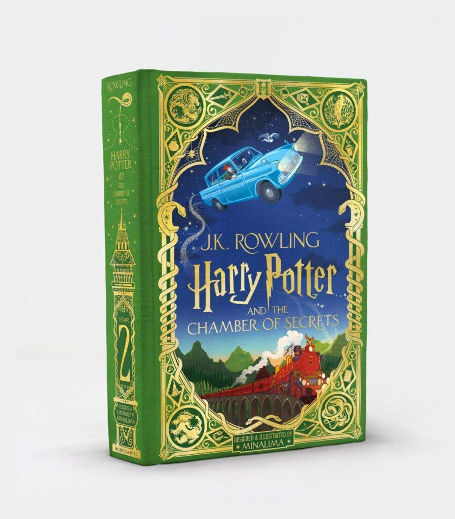 Harry Potter e la Camera dei Segreti edizione MinaLima