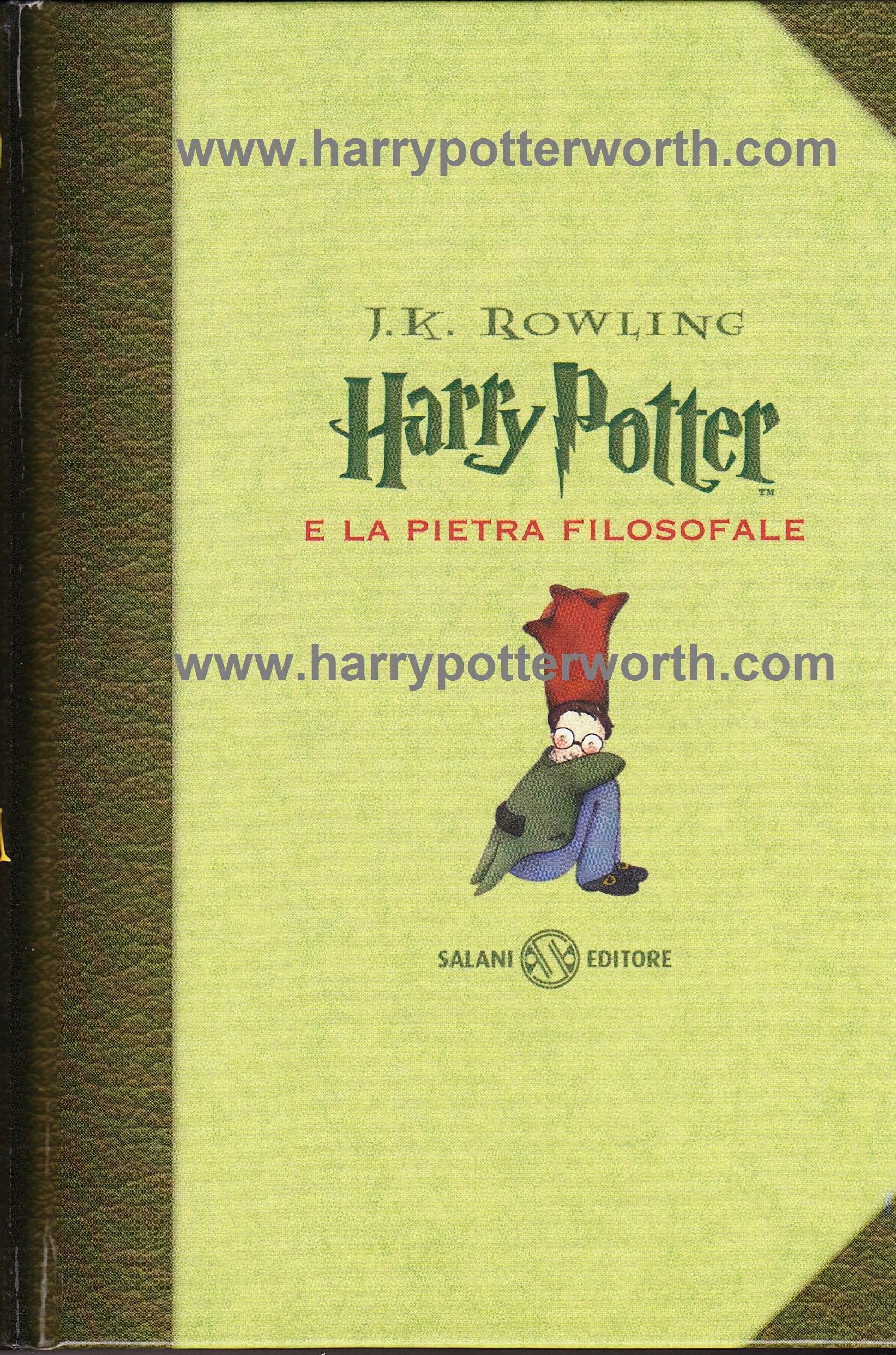Harry Potter e la Pietra Filosofale Edizione Motto Hogwarts 2007 - Fronte