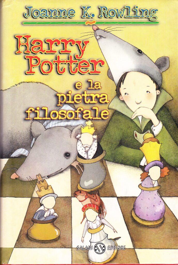 Harry Potter e la Pietra Filosofale Prima Edizione Senza Occhiali