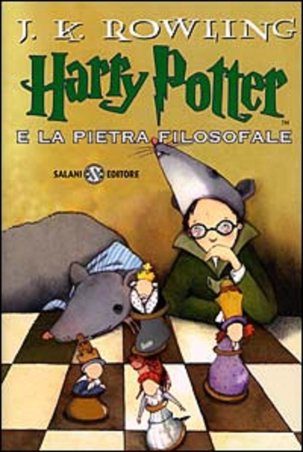Harry Potter e la Pietra Filosofale Prima Edizione Serena Riglietti